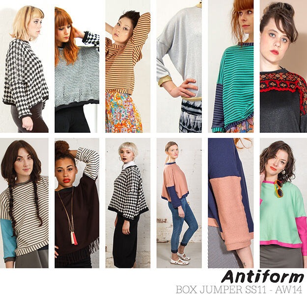 Evolution of the Antiform Box Jumper