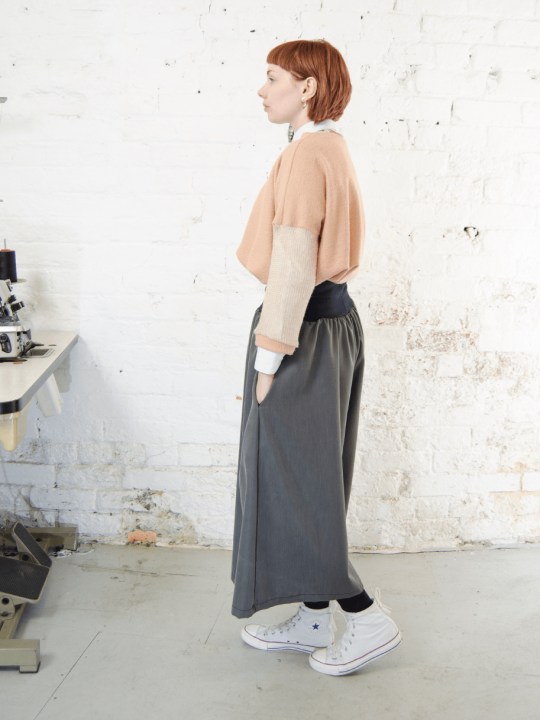 Antiform Epic Trousers Culottes Grey