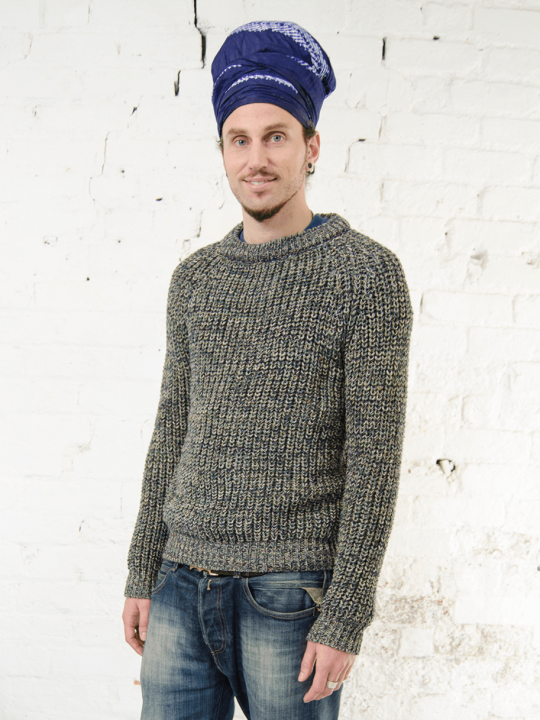 Antiform Fisherman Knit Jumper Made In UK