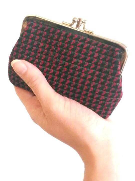 Antiform Tweed Purse 3.0