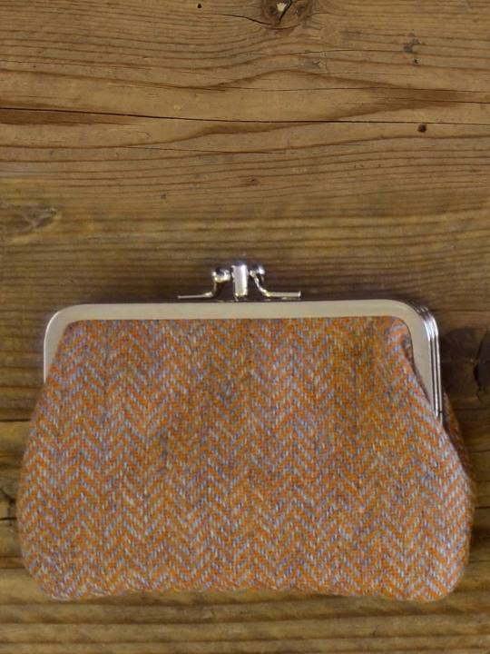 Antiform Tweed Purse Tan