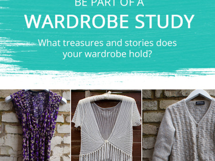 The Lion, the Witch and the Wardrobe…. What treasures and stories does your wardrobe hold?