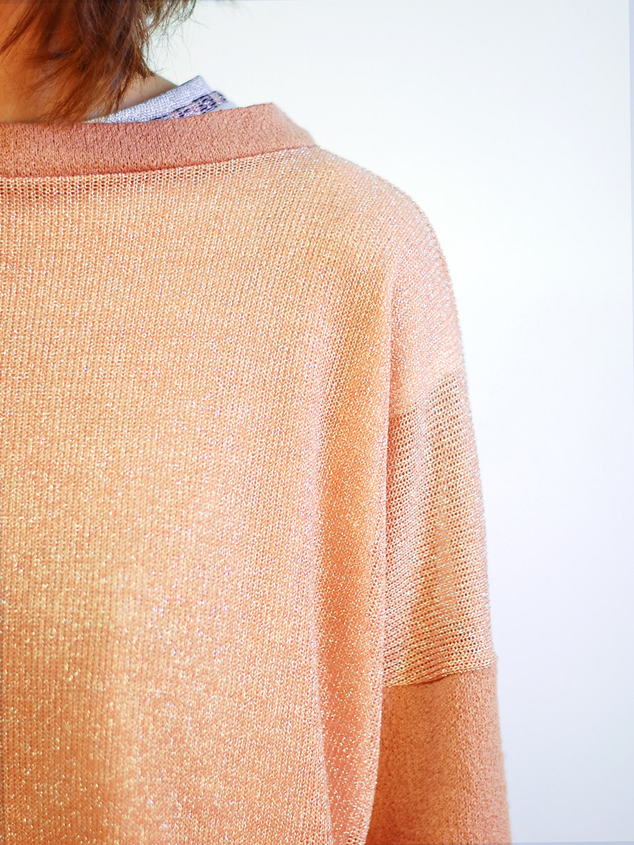 Antiform Box Jumper Peach Disco