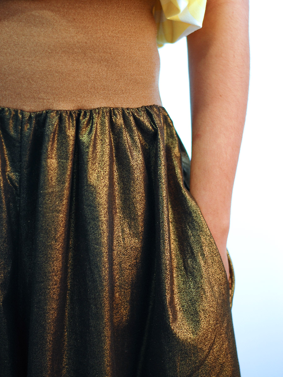 Antiform Epic Trousers Gold
