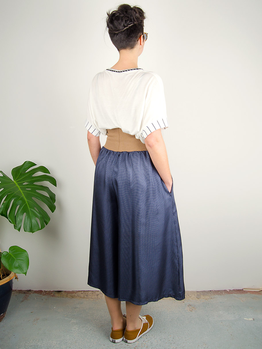 Antiform Epic Trousers Silk Polka