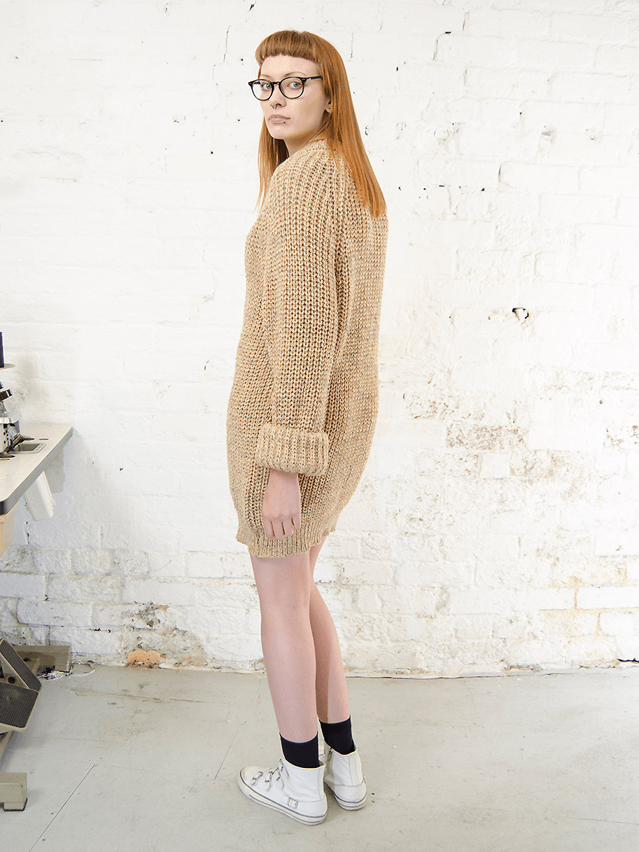 Antiform Fisherman Knit Dress