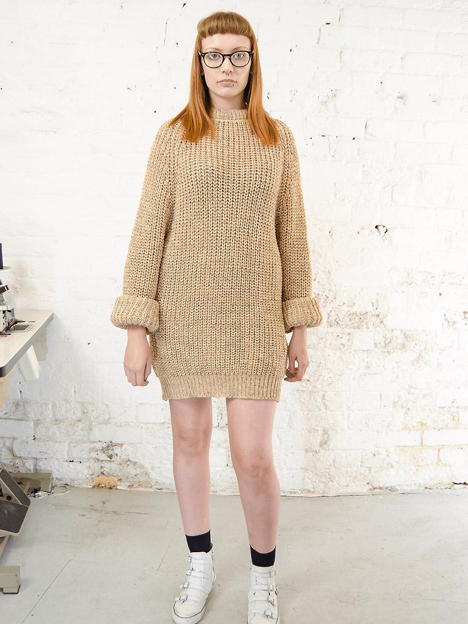 Antiform Fisherman Knit Dress