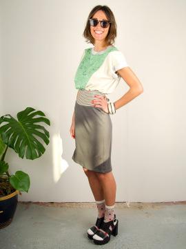 Antiform Folk Dress in Mint