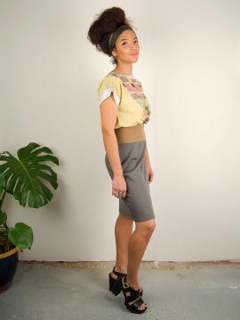 Antiform Folk Dress in Pastel