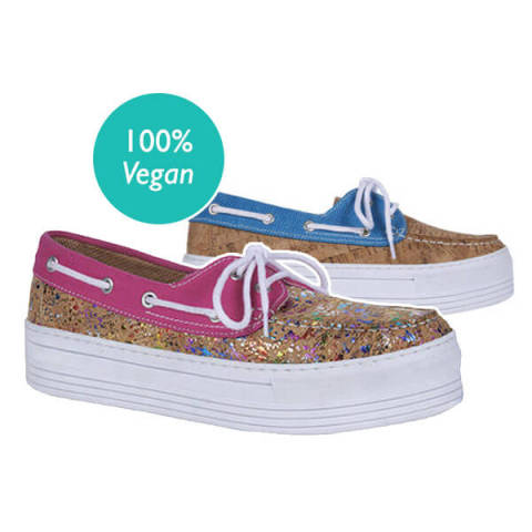 Yawstore vegan holographic shoes