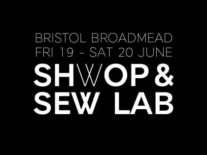 Shwop & Sew Lab – Bristolians, give your clothes a second life with M&S!