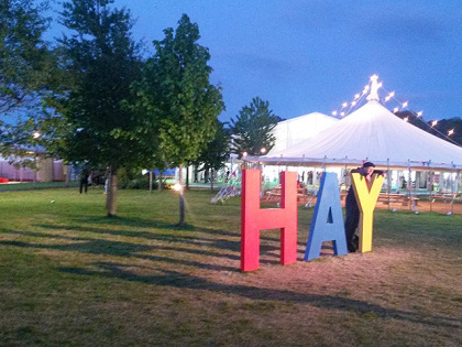Just Fashion Lab at Hay Festival