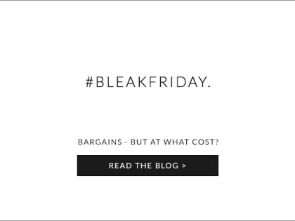 Bargains – But At What Cost? The Push Back Against Black Friday