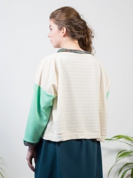 Antiform-Box-Jumper-Cream-Mint (3)