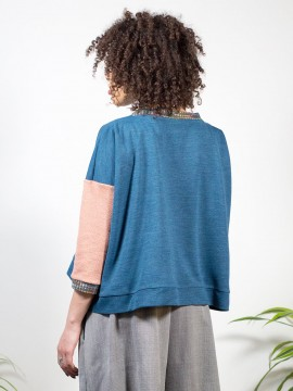 Antiform-Box-Jumper-Indigo-Peach (4)