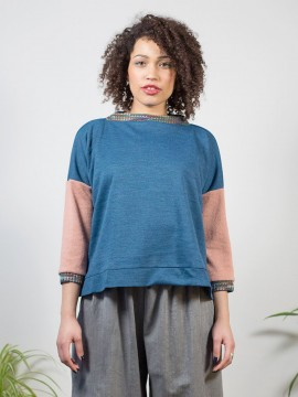 Antiform-Box-Jumper-Indigo-Peach (6)