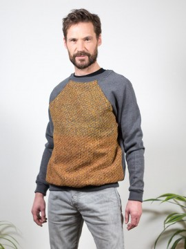 Antiform Panel Unisex Sweater in Blanket - Mens