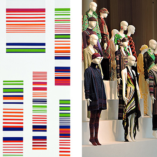 Antiform loves Missoni Art Colour at Fashion & Textile Museum