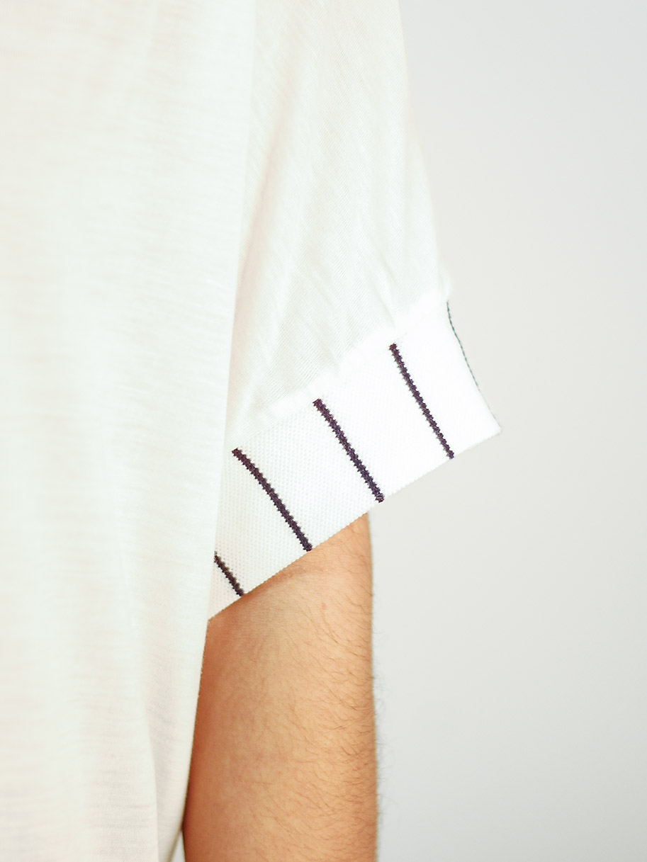 Antiform Oversized T White Optic